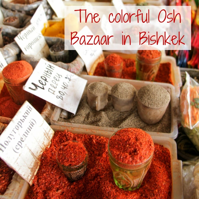 Travel Guide Kyrgyzstan: Plan your visit to the Osh Bazaar in Bishkek