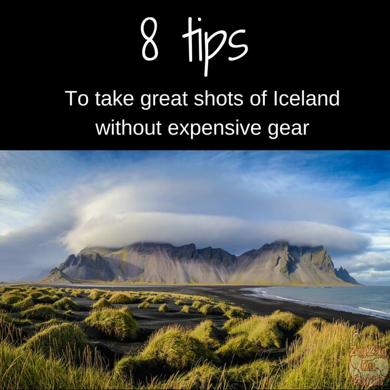 8 tips to take great photos of Iceland without expensive gear