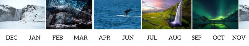 best month to visit Iceland