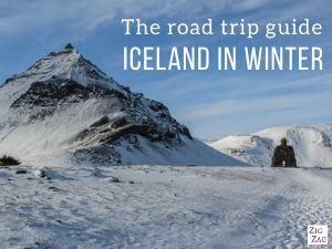 Small cover Road trip guide - Iceland in Winter eBook