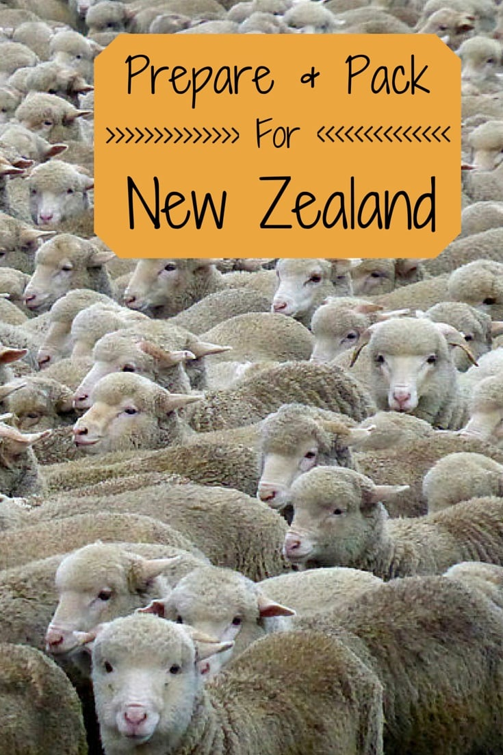 Tips prepare pack trip New Zealand
