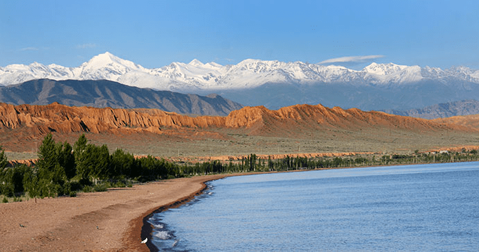 Best photo spot Issyk Kul Kyrgyzstan by Novoselov