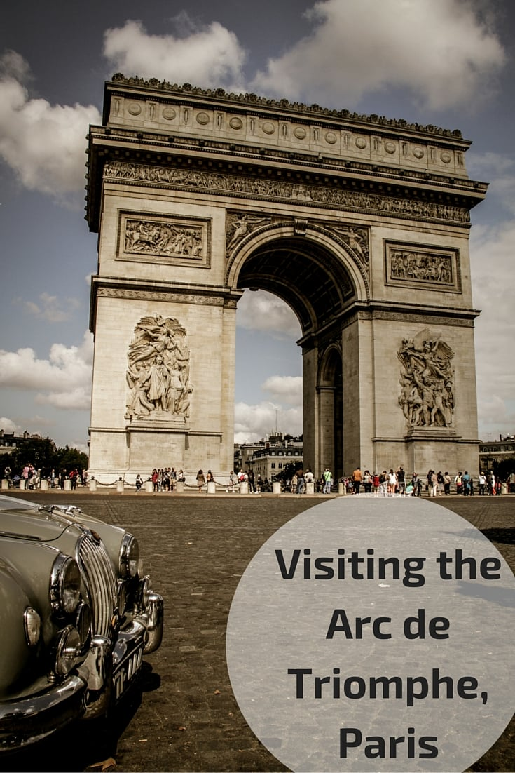 Visiting the Arc de Triomphe Paris