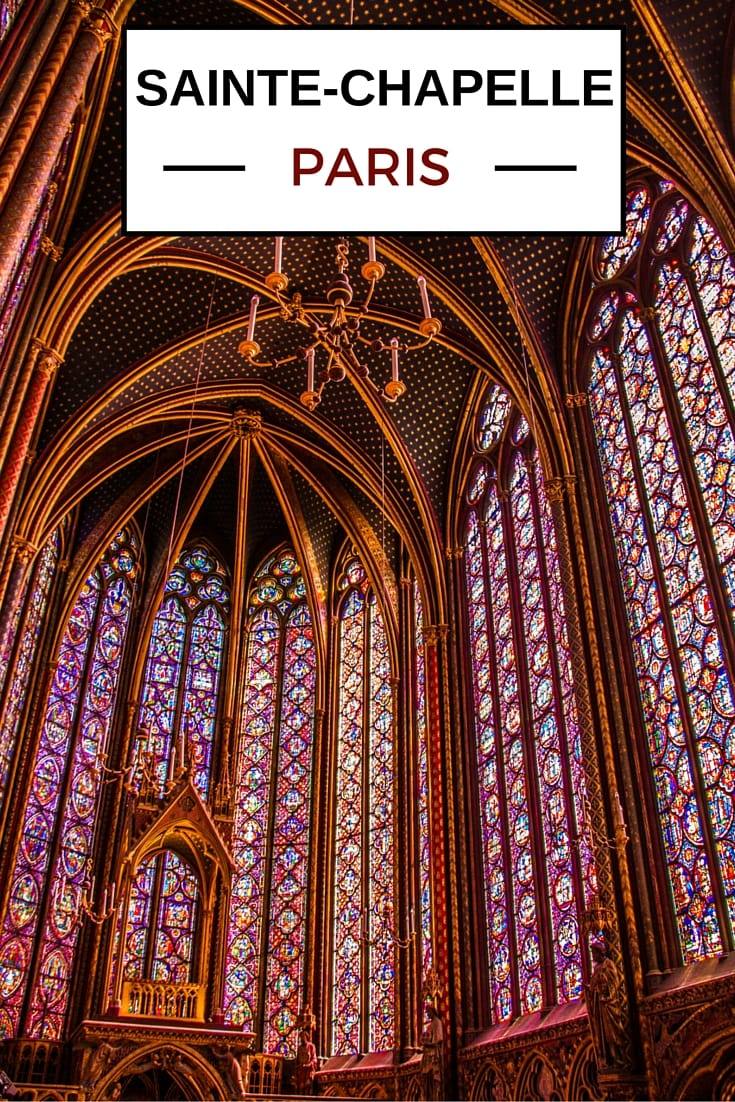 Guide to visit Sainte-Chapelle church Paris France