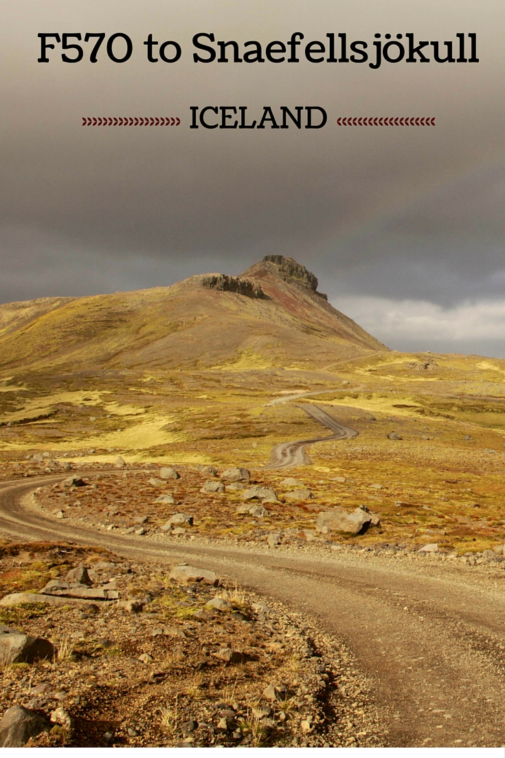 Photos and Guide to plan your drive on F570 to Snaefellsjökull - Iceland