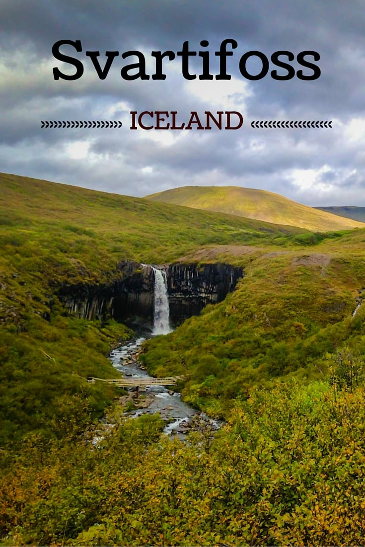 Travel Guide Iceland : Plan your visit to Svartifoss and Skaftafell