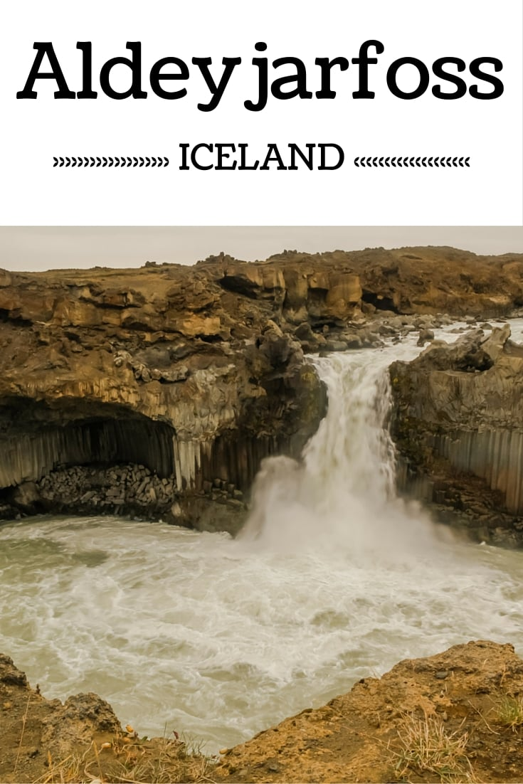 Plan your visit to Aldeyjarfoss waterfall Iceland