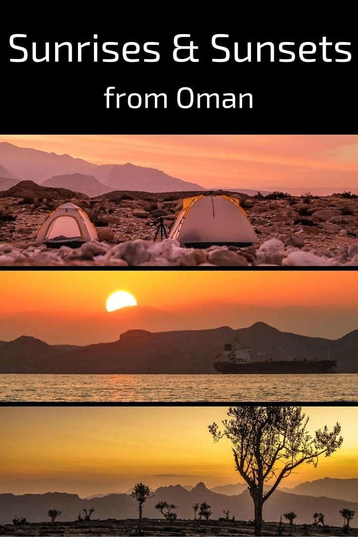 Sunrises Sunsets Oman