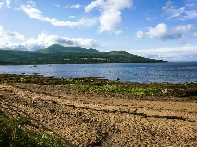 scottish island of Arran