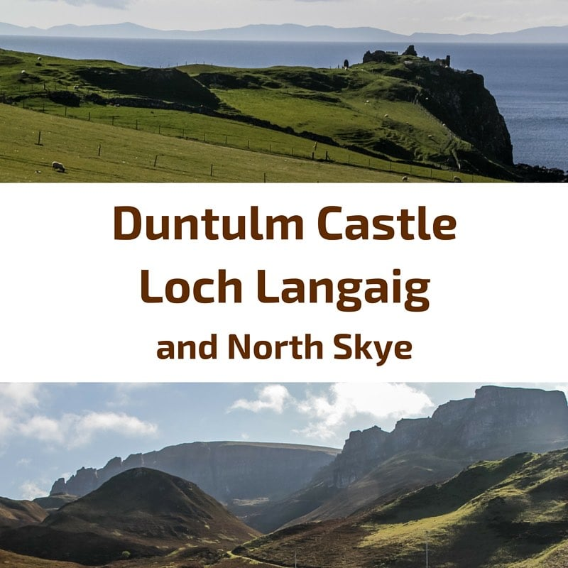 Travel Scotland - Duntulm Castle - Loch Langaig - North Skye sq