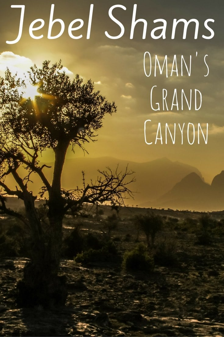 Jebel Shams Oman - Oman Grand Canyon - Wadi Ghul Oman - Jebel Shams Resort