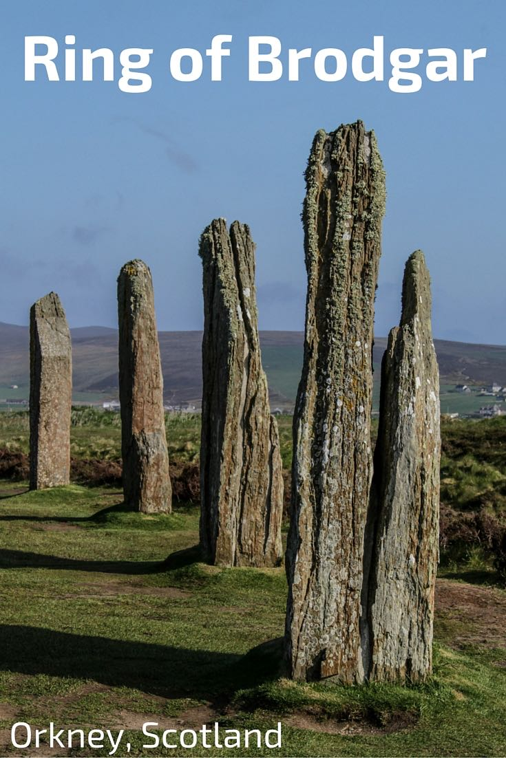the Ring of Brodgar Orkney Scotland