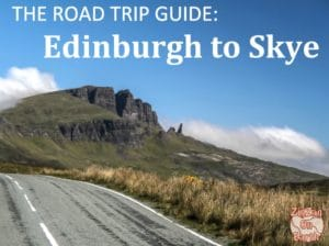 Cover Road Trip Edinburgh to Skye