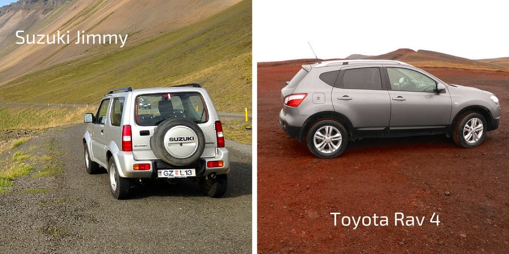 Iceland Road Trip - renting a car in Iceland