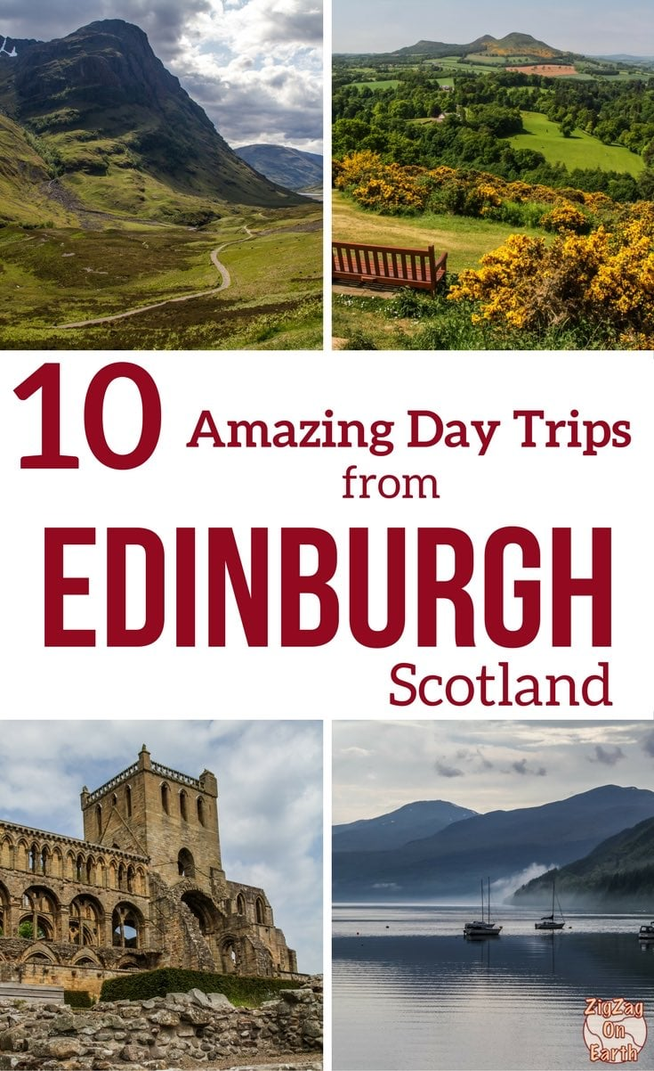 Pinterest Best day trips from Edinburgh Scotland Travel Guide