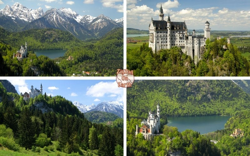 Best view of Neuschwanstein Castle - Pictures of Neuschwanstein Castle Germany