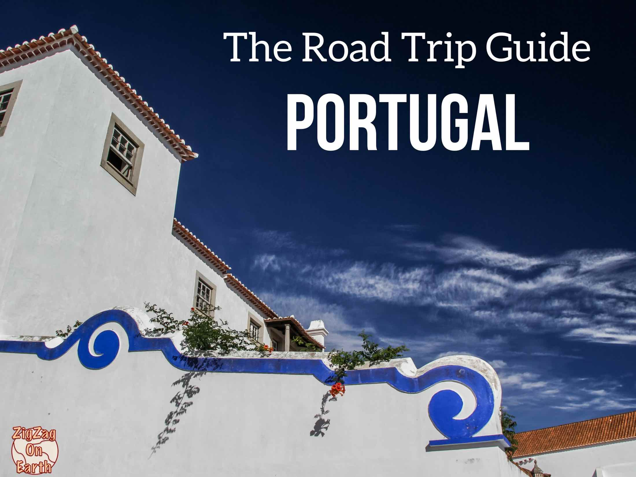 Portugal road trip guide ebook cover