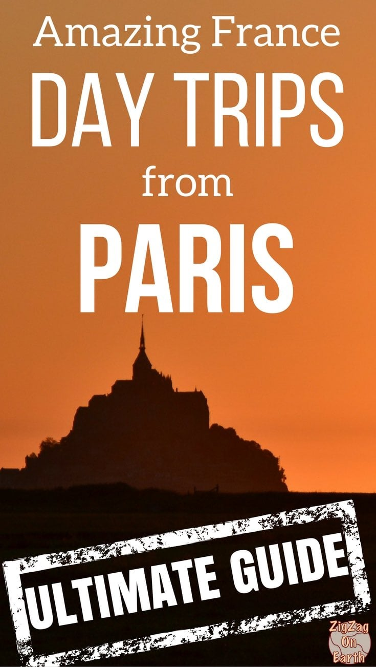 Pin Best day trips from Paris France things to do in Paris travel