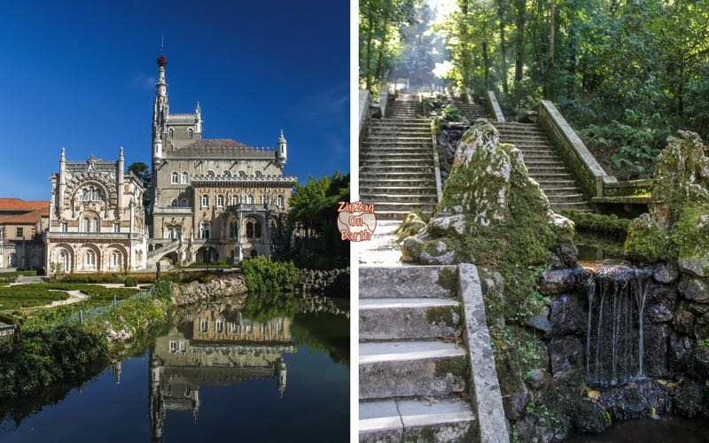 One day trip from Porto Portugal - Bussaco