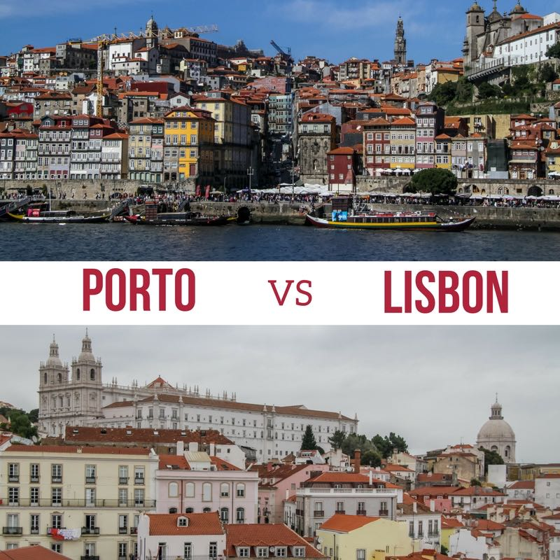 Porto or Lisbon for weekend Portugal 2
