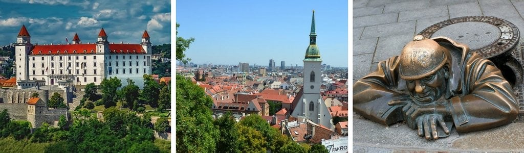 Bratislava stop on itinerary 2 weeks around Europe by train