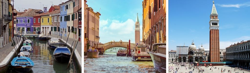 Venice stop on itinerary Europe travel by train