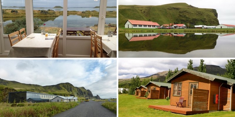 accommodation options in Self drive tour Iceland
