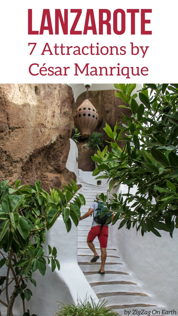 Best Lanzarote Attractions Cesar Manrique Canary islands travel