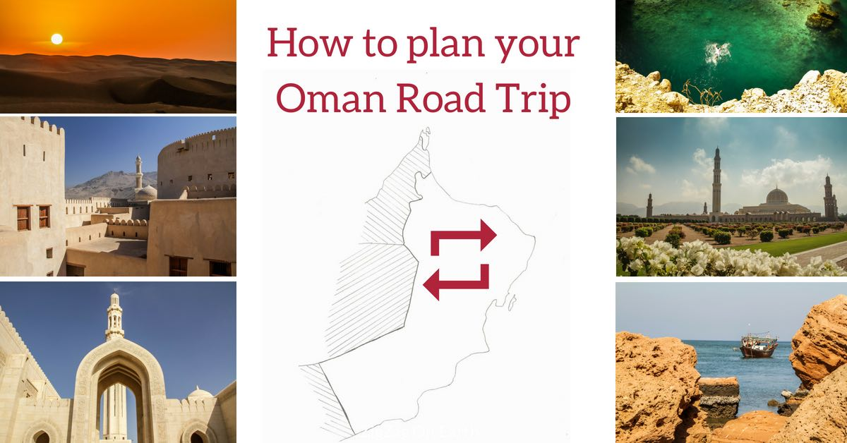 FB Plan itinerary Oman Road trip