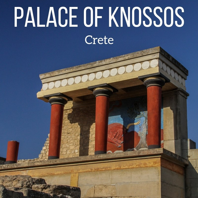 Minoan palace of Knossos Crete Travel guide