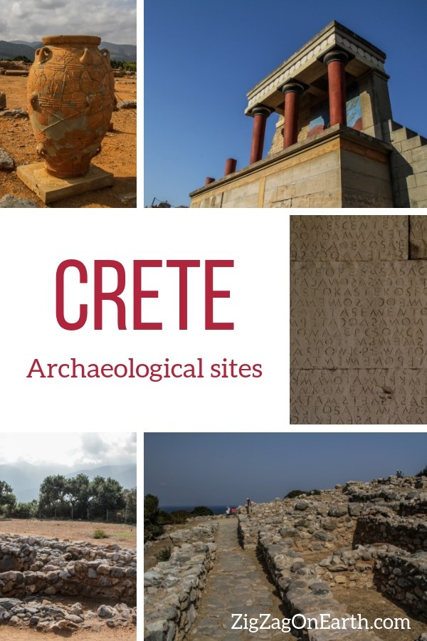 archaeological sites in crete travel