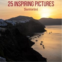 Landscapes photos Santorini Travel Guide