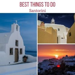Things to do in Santorini Travel Guide