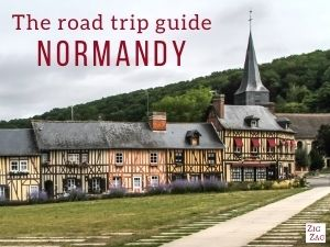 s the road trip guide normandy eBook cover